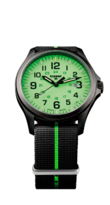 Traser P67 Officer Pro GunMetal Lime 107429