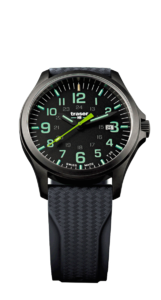 Traser P67 Officer Pro GunMetal Black/Lime 107862