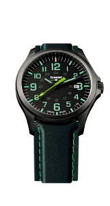Traser P67 Officer Pro GunMetal Black/Lime 107864