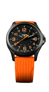 Traser P67 Officer Pro GunMetal Black/Orange 107871