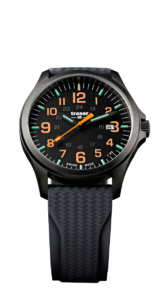 Traser P67 Officer Pro GunMetal Black/Orange 107872